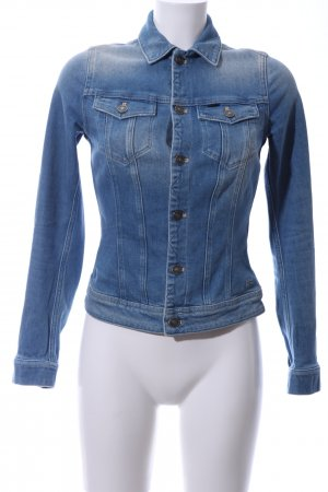G-Star Jeansjacke blau Casual-Look