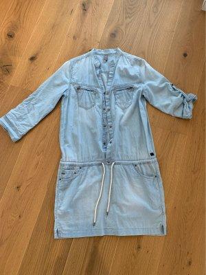G-Star Raw Denim Dress light blue