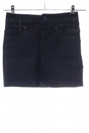G-Star Jeansrock blau Casual-Look
