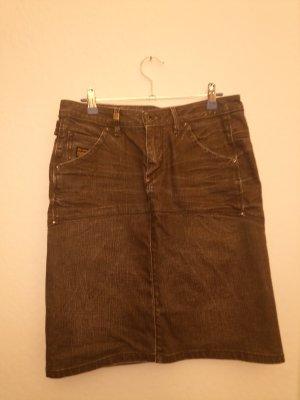 G-Star Gonna di jeans nero-antracite