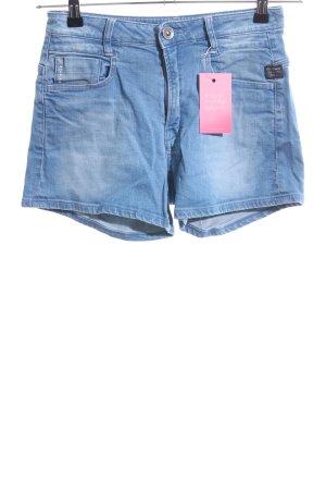 G-Star Jeansshorts blau Casual-Look
