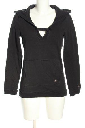 G-Star Kapuzensweatshirt schwarz Casual-Look