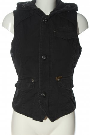 G-Star Hooded Vest black casual look