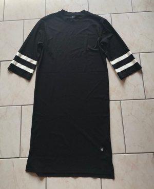 G-Star Jersey Dress natural white-black viscose