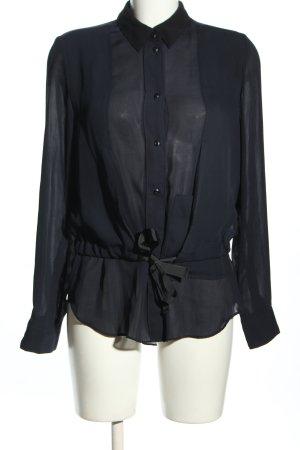 G-Star Langarm-Bluse schwarz Casual-Look
