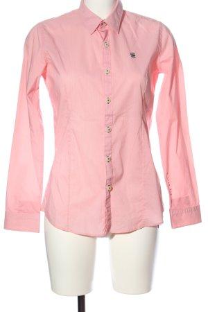 G-Star Langarmhemd pink Casual-Look