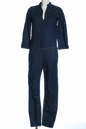 G-Star Langer Jumpsuit bleu style décontracté