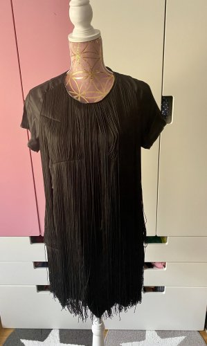 G-Star Fringed Dress black