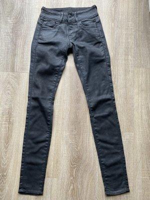 G-Star, Lynn Mid Skinny, Gr. 24/32 schwarz coated