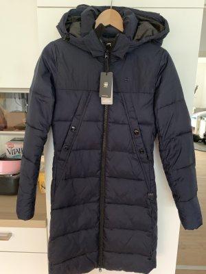 G-Star Gewatteerde jas donkerblauw