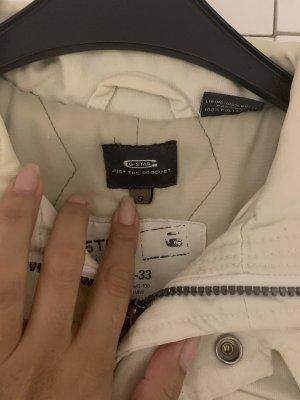 G-Star Abrigo corto blanco puro