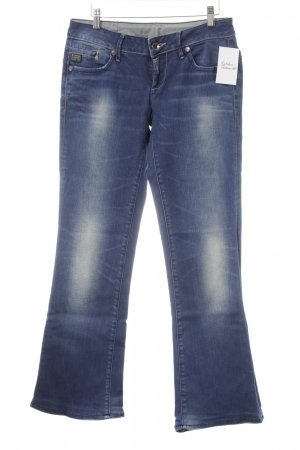 G-Star Marlene jeans donkerblauw Logo applicatie