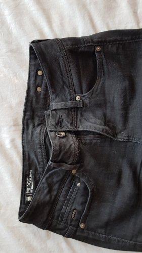 G-Star Raw Jeansy z prostymi nogawkami czarny Bawełna