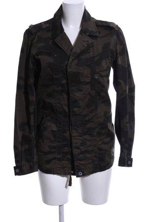 G-Star Militaryjacke khaki-braun Camouflagemuster Casual-Look