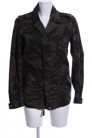 G-Star Militair jack khaki-bruin camouflageprint casual uitstraling