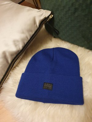 G-Star Knitted Hat blue-neon blue