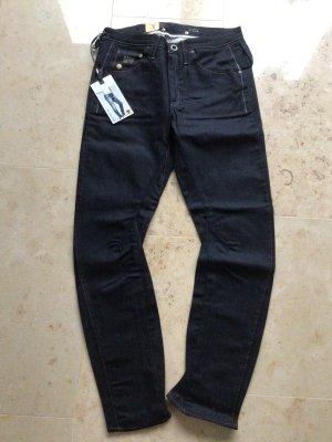 G-Star Jeans boyfriend bleu foncé coton