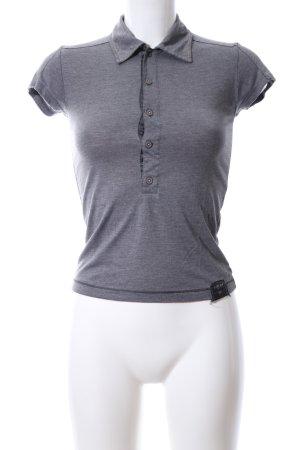 G-Star Polo-Shirt hellgrau meliert Casual-Look