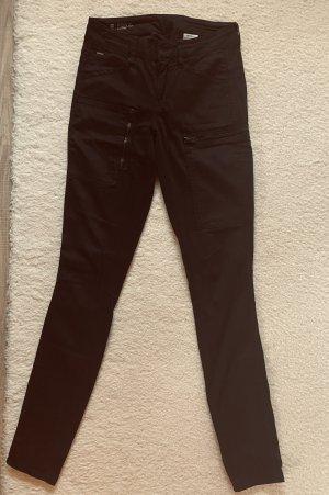 G-Star Raw Pantalón de tubo negro Algodón