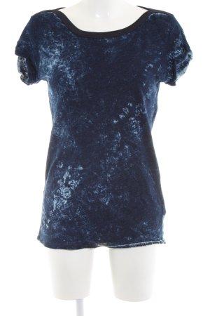 G-Star Print-Shirt blau Farbverlauf Casual-Look