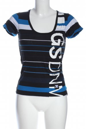 G-Star Print-Shirt Schriftzug gedruckt Casual-Look