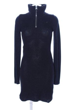G-Star Pulloverkleid blau Streifenmuster Casual-Look