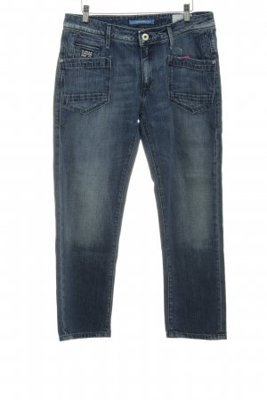 G-Star Raw 3/4 Length Jeans dark blue cotton