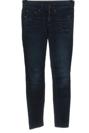 G-STAR RAW 3301 Denim Jeans vita bassa blu elegante