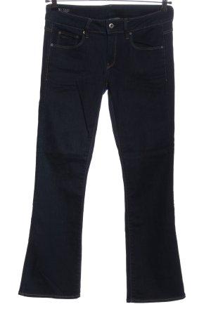 G-STAR RAW 3301 Denim Jeansschlaghose blau Casual-Look