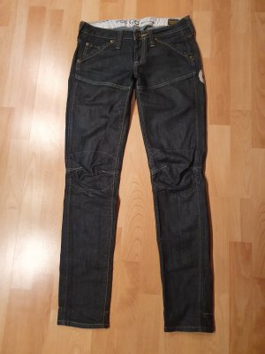 G-Star Raw Biker jeans donkerblauw