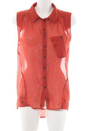 G-Star Raw ärmellose Bluse rot Casual-Look