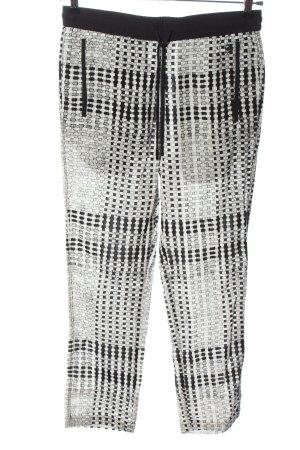 G-Star Raw Baggy Pants weiß-schwarz Allover-Druck Casual-Look