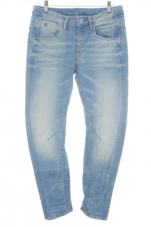 G-Star Raw Baggy Jeans cornflower blue-natural white Metal elements
