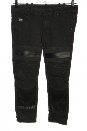 G-Star Raw Bikerjeans schwarz Casual-Look