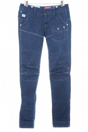 G-Star Raw Bikerjeans dunkelblau Casual-Look