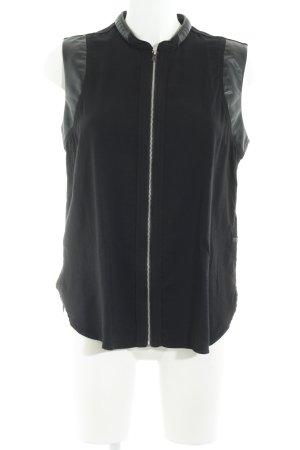 G-Star Raw Marynarka koszulowa czarny Aplikacja z logo
