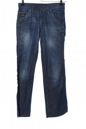 G-Star Raw Boot Cut Jeans blau Casual-Look