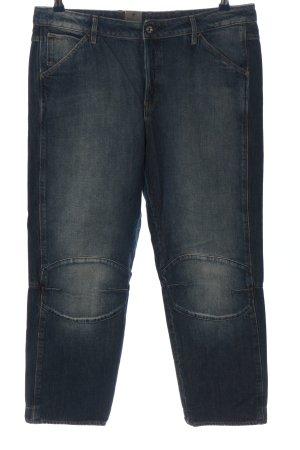 G-Star Raw Spodnie typu boyfriend niebieski W stylu casual