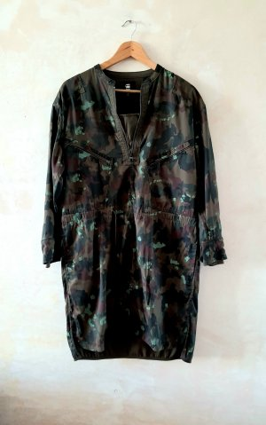 G Star Raw Camo Tunic Shirt Dress M