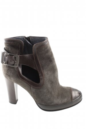 G-Star Raw Cut Out Booties brown casual look