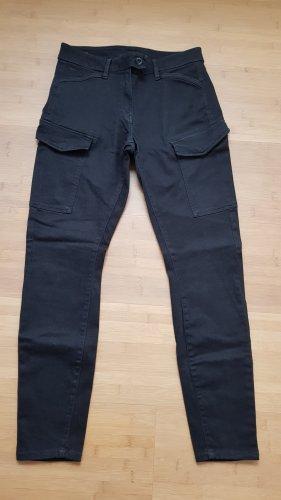 G-STAR RAW Damen Air Defence 5620 Mid Waist Skinny Jeans