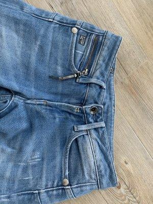 Gstar Low Rise jeans blauw-staalblauw