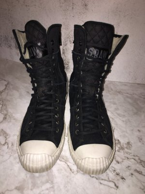 G-Star Raw High Top Sneaker black-white leather
