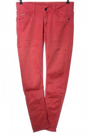 G-Star Raw Pantalón de cinco bolsillos rosa look casual