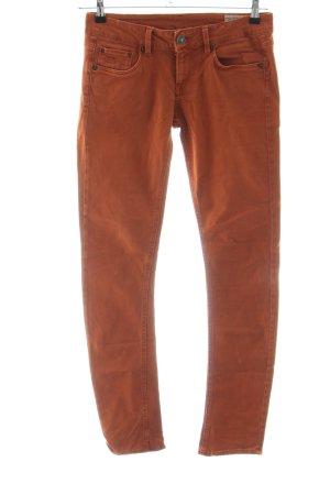 G-Star Raw Five-Pocket Trousers dark orange business style