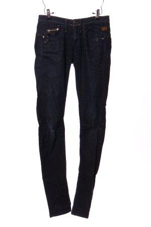 G-Star Raw Pantalone cinque tasche blu Stampa a tema stile casual