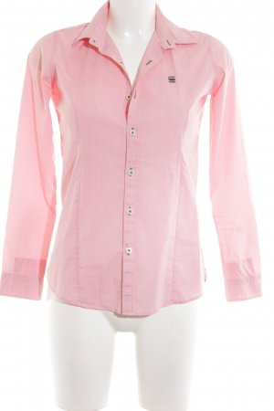 G-Star Raw Hemd-Bluse pink Business-Look
