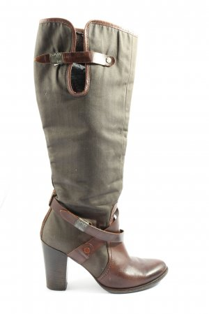 G-Star Raw High Heel Boots brown casual look