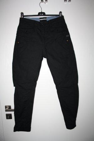 G-Star Raw Hoge taille jeans zwart Katoen