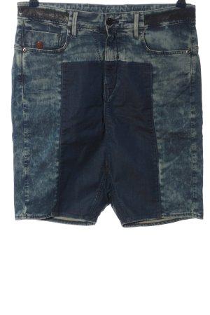 G-Star Raw High-Waist-Shorts blau Casual-Look
